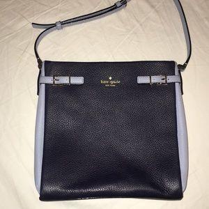 Navy & light blue Kate Spade Messenger Bag